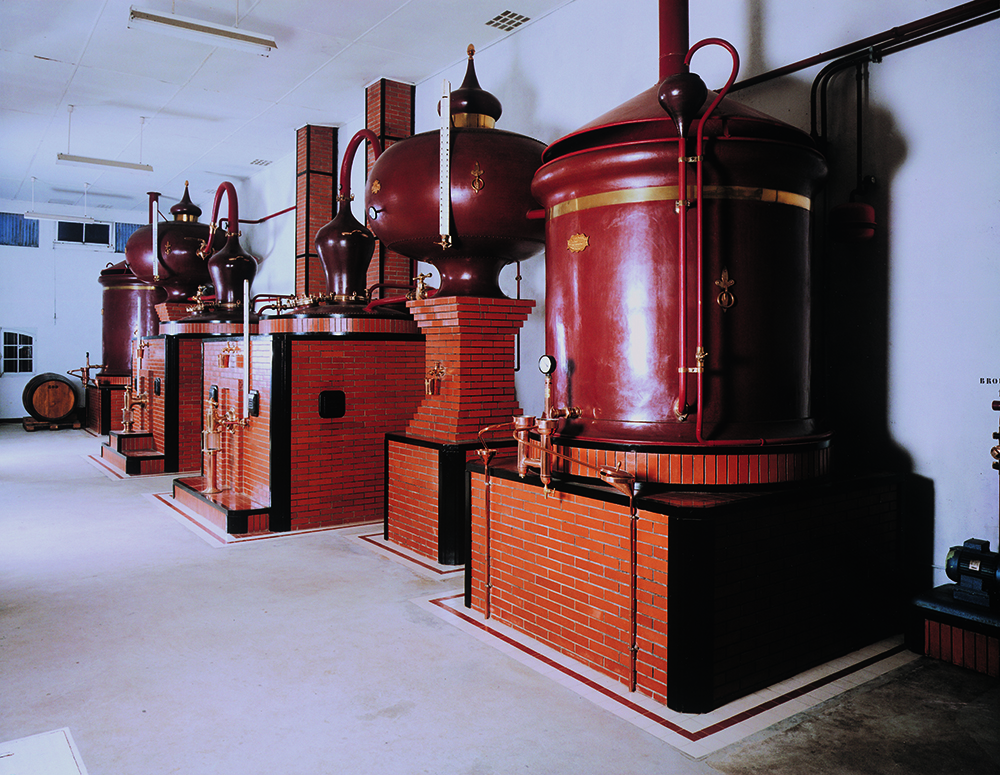 distillation du cognac