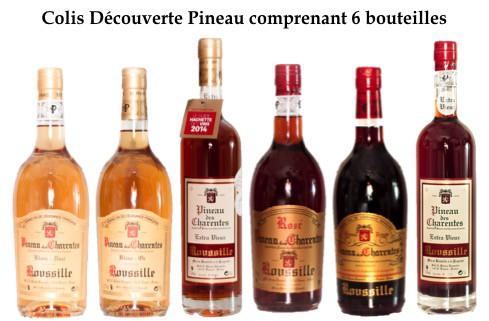 Colis Découverte Pineau