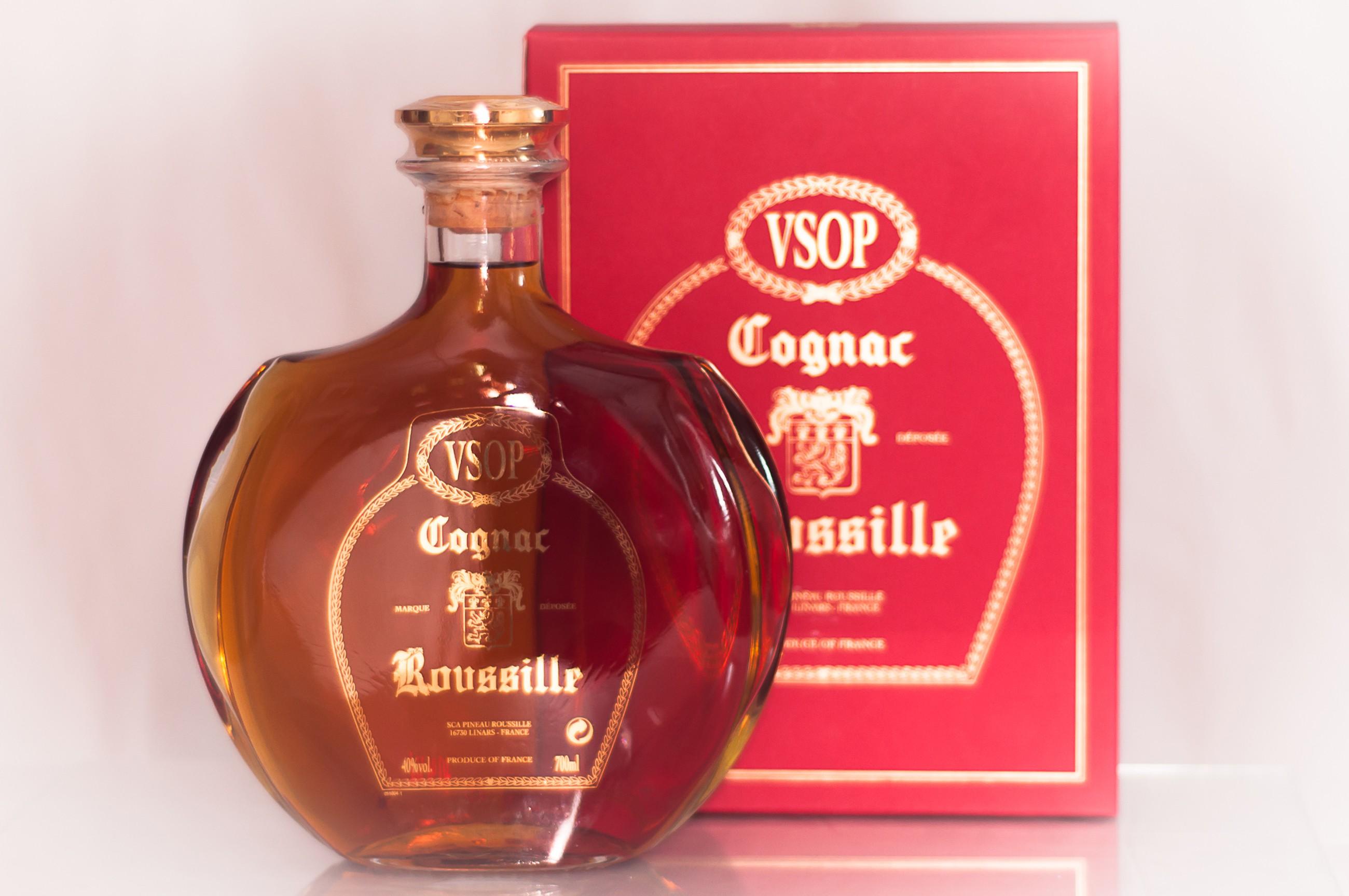 Cognac V.S.O.P Carafe Sérigraphiée 70 cl