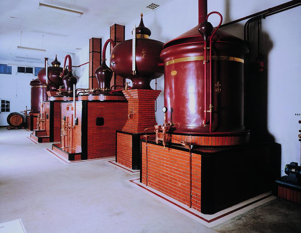 distillation du cognac