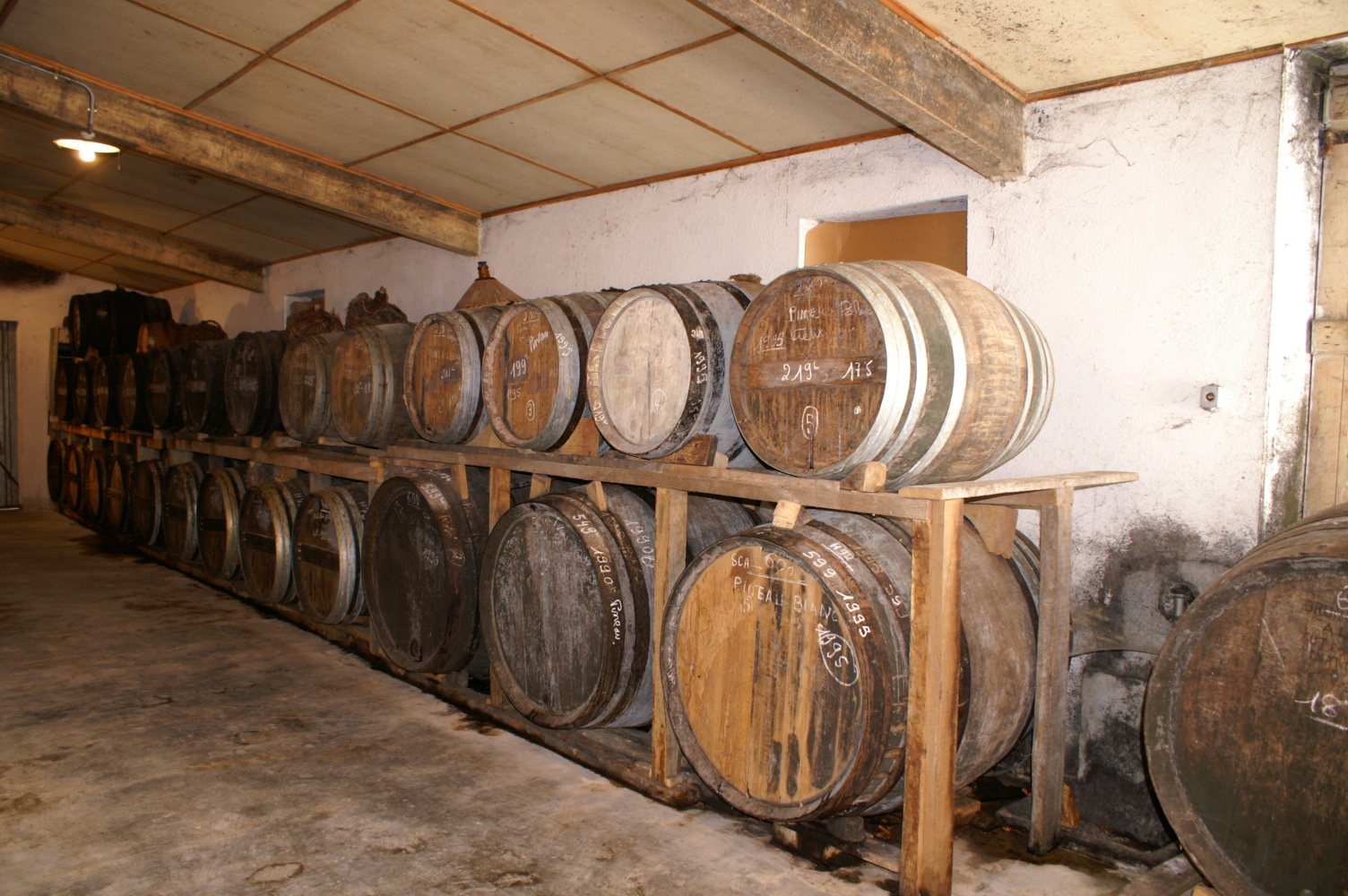Vieillissement du Cognac