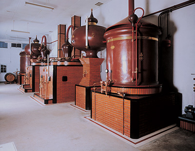 Fabrication cognac : distillation - Pineau Roussille
